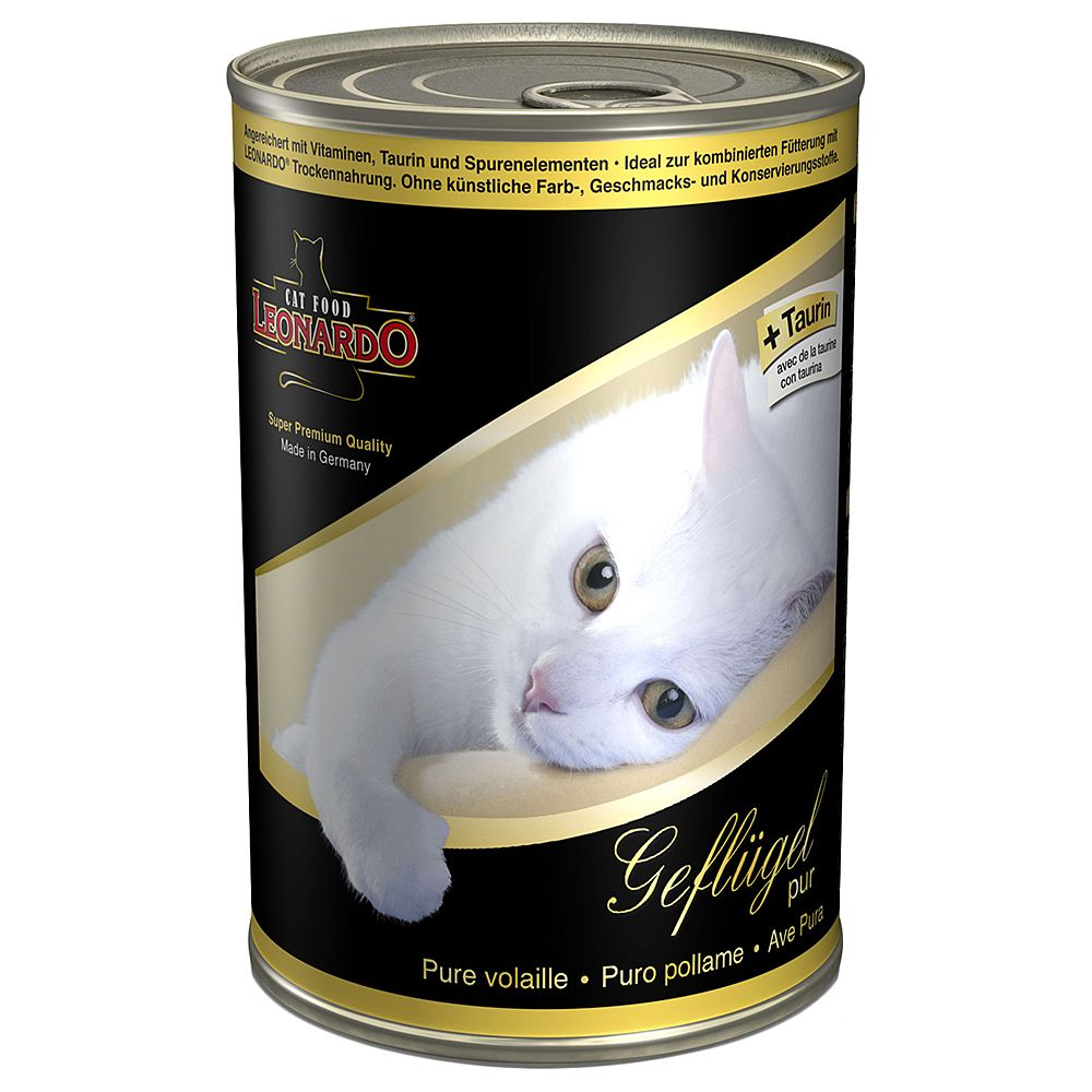 Leonardo All Meat 6 x 400g - Kitten