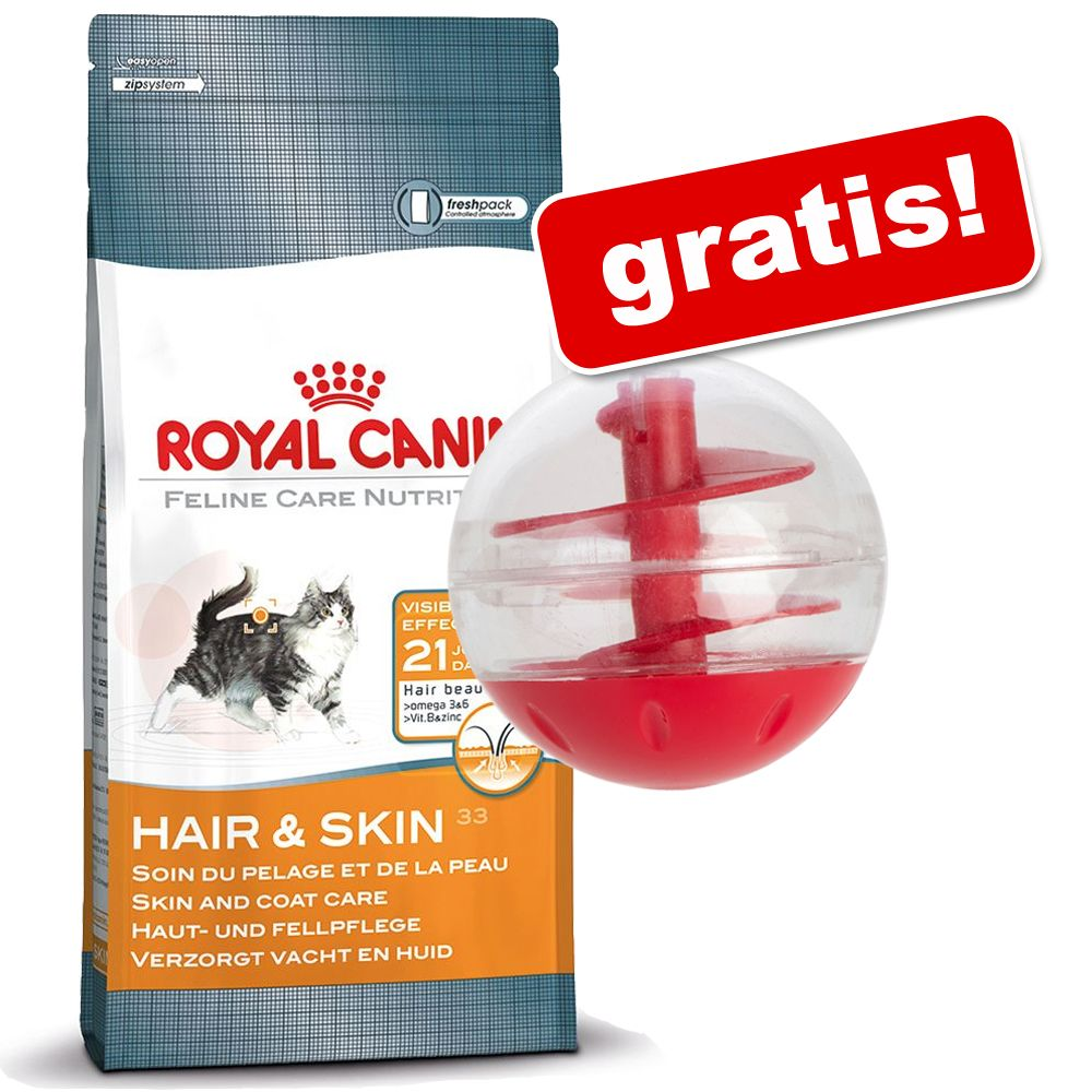 10 kg Royal Canin + Katzenspielzeug Snackball g...