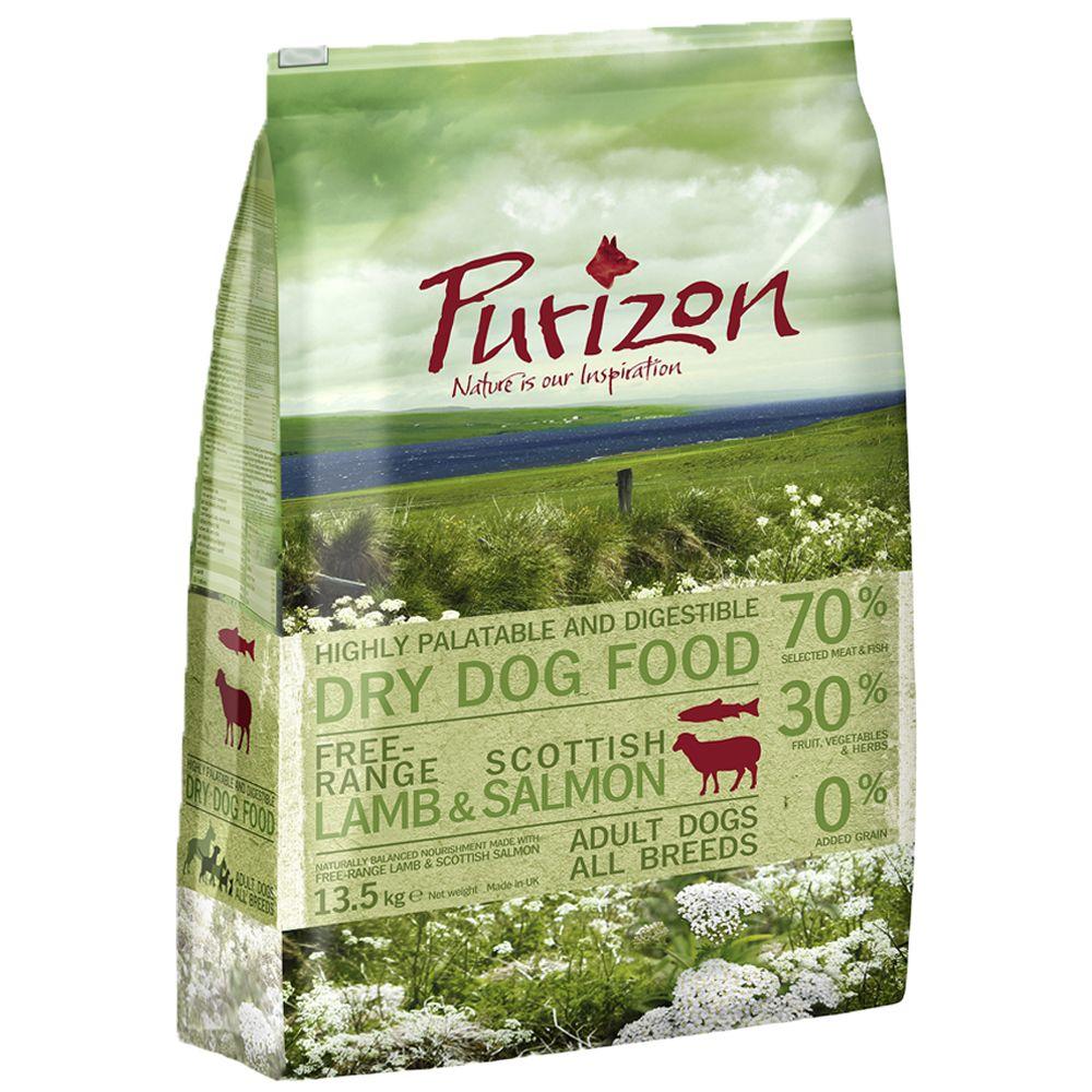 Purizon Adult Lamm & Lachs - getreidefrei - 13,5 kg
