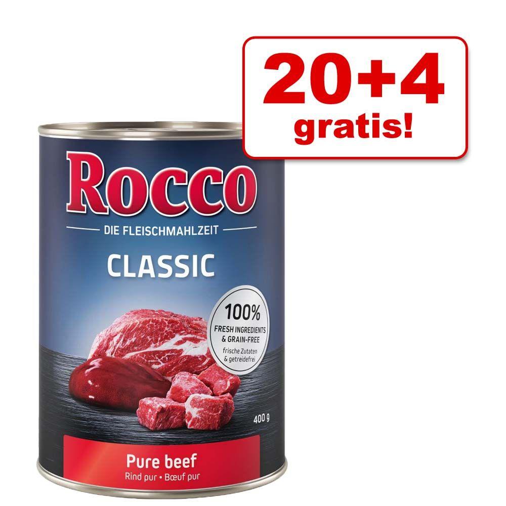 20 + 4 gratis! Rocco Classic, 24 x 400 g - Mieszany pakiet II