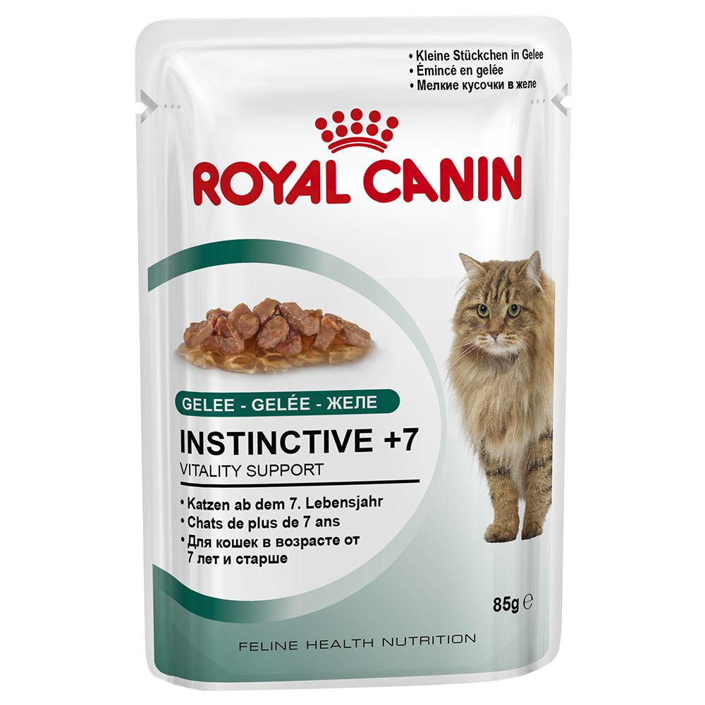 Royal Canin Instinctive +7 in Jelly - 12 x 85g