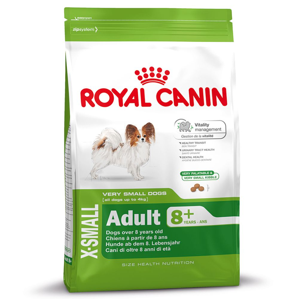 Royal Canin X-Small Adult 8+ - 3kg