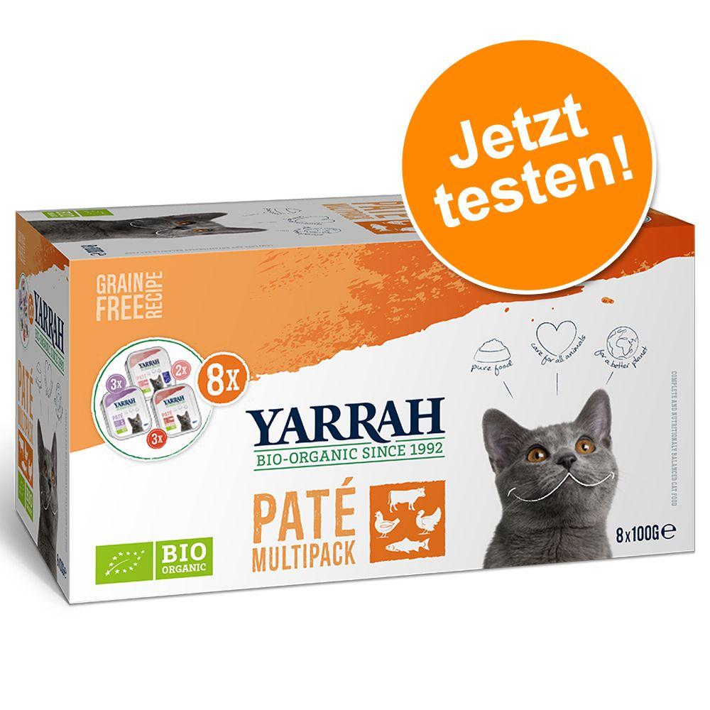 Yarrah Bio Pate Multipack 8 x 100 g - Mix (3 So...