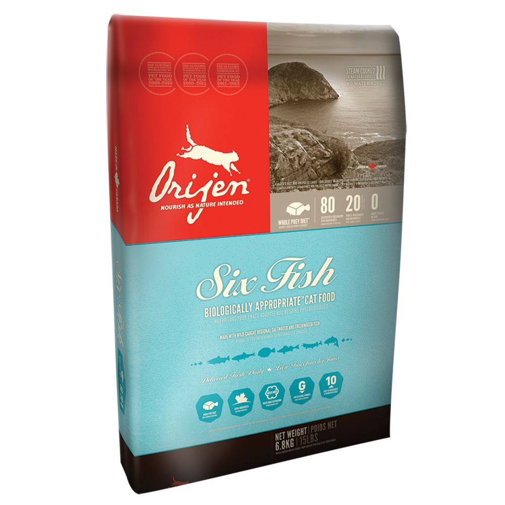 Orijen Cat 6 Fish Dry Food - 6.8kg