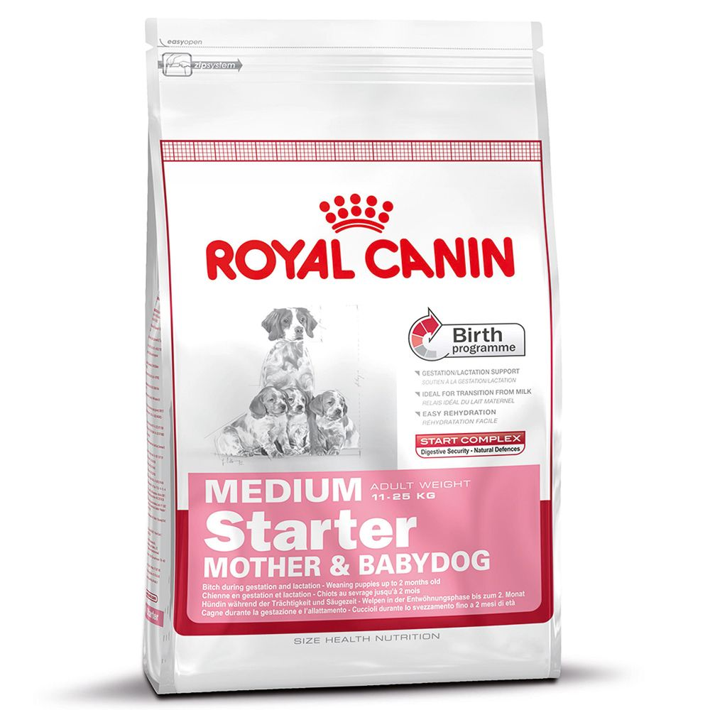 Foto Royal Canin Medium Starter Mother & Babydog - 12 kg Royal Canin Size Royal Canin Svezzamento