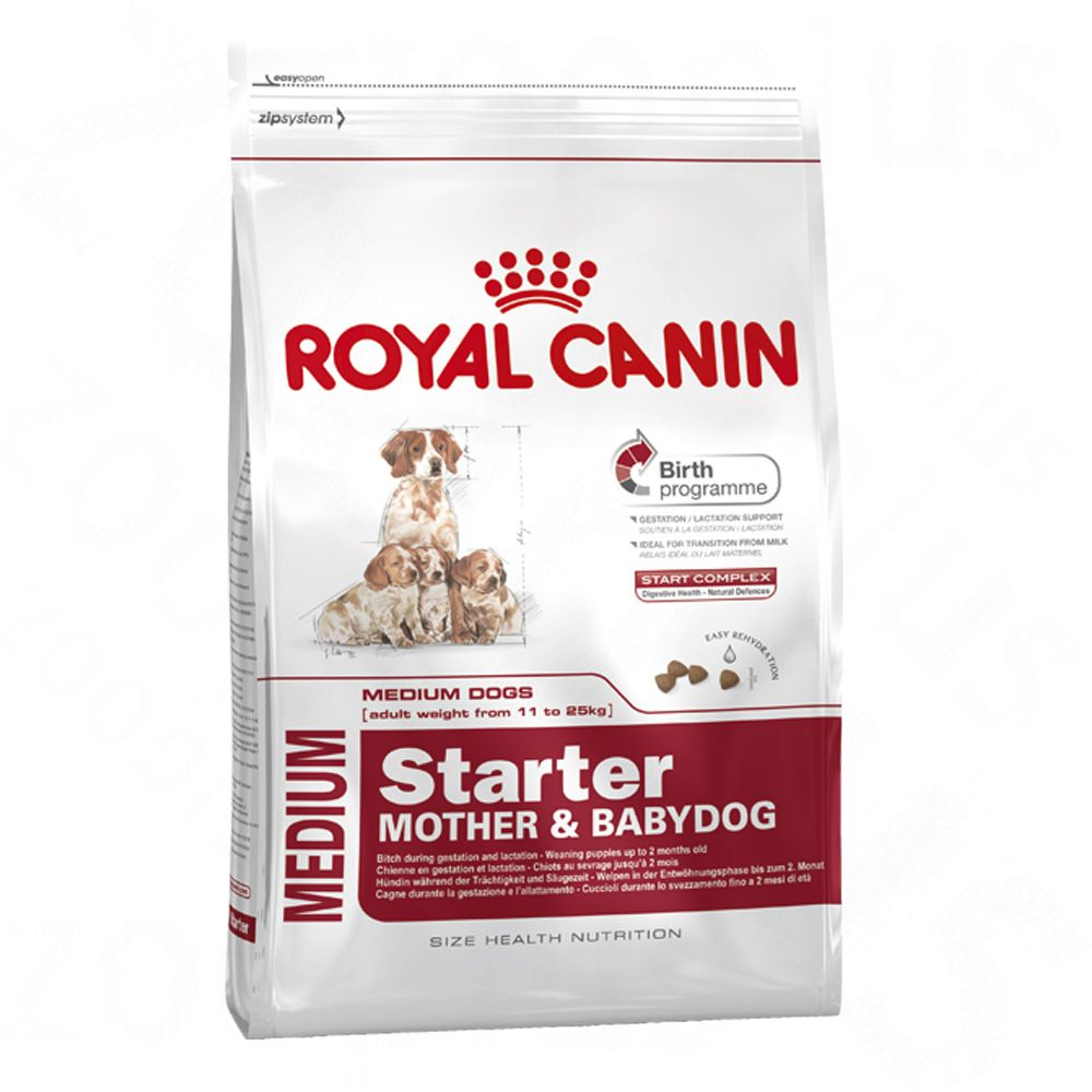 Royal Canin Medium Starter Mother & Babydog - Economy Pack: 2 x 12kg