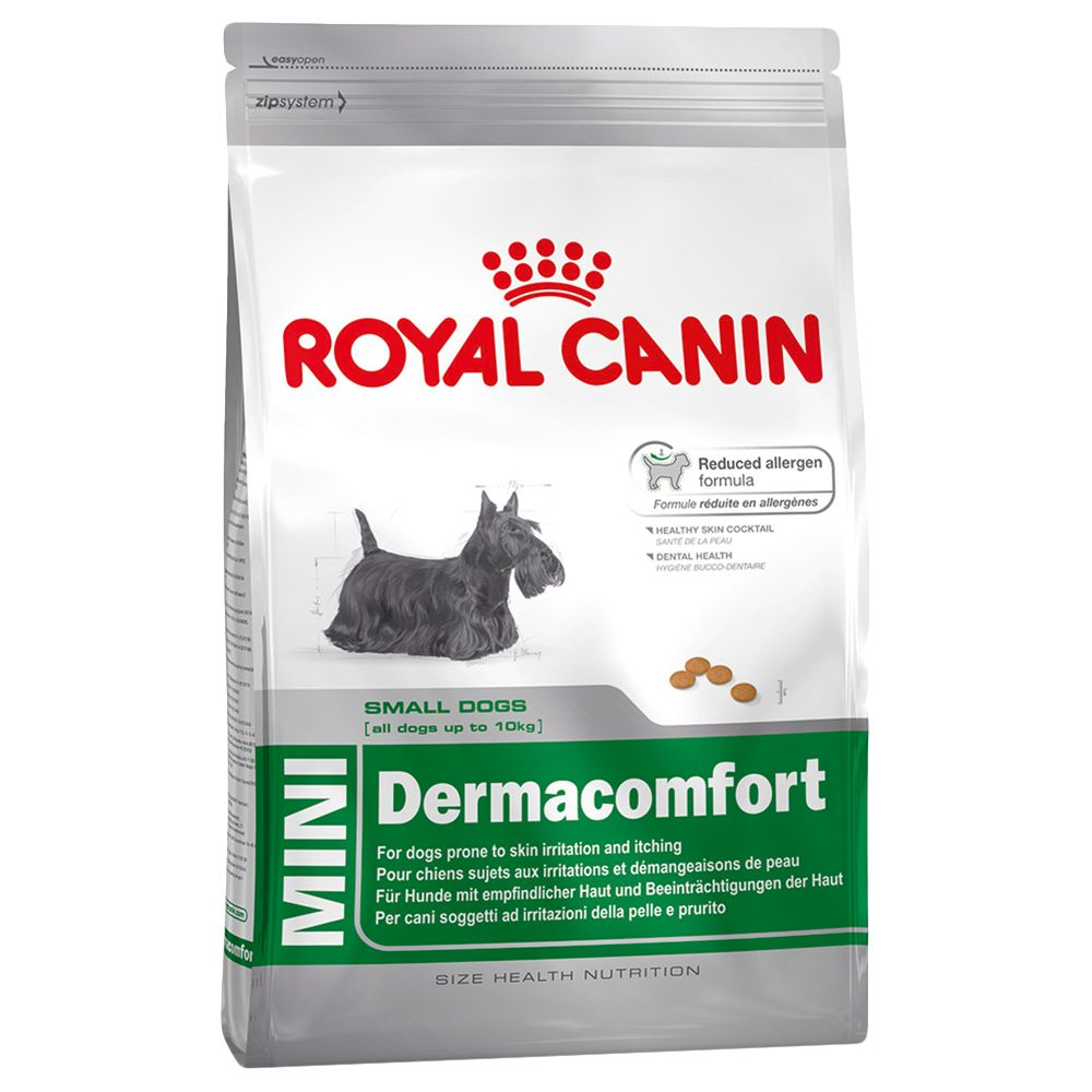 Royal Canin Mini Dermacomfort - Economy Pack: 2 x 4kg