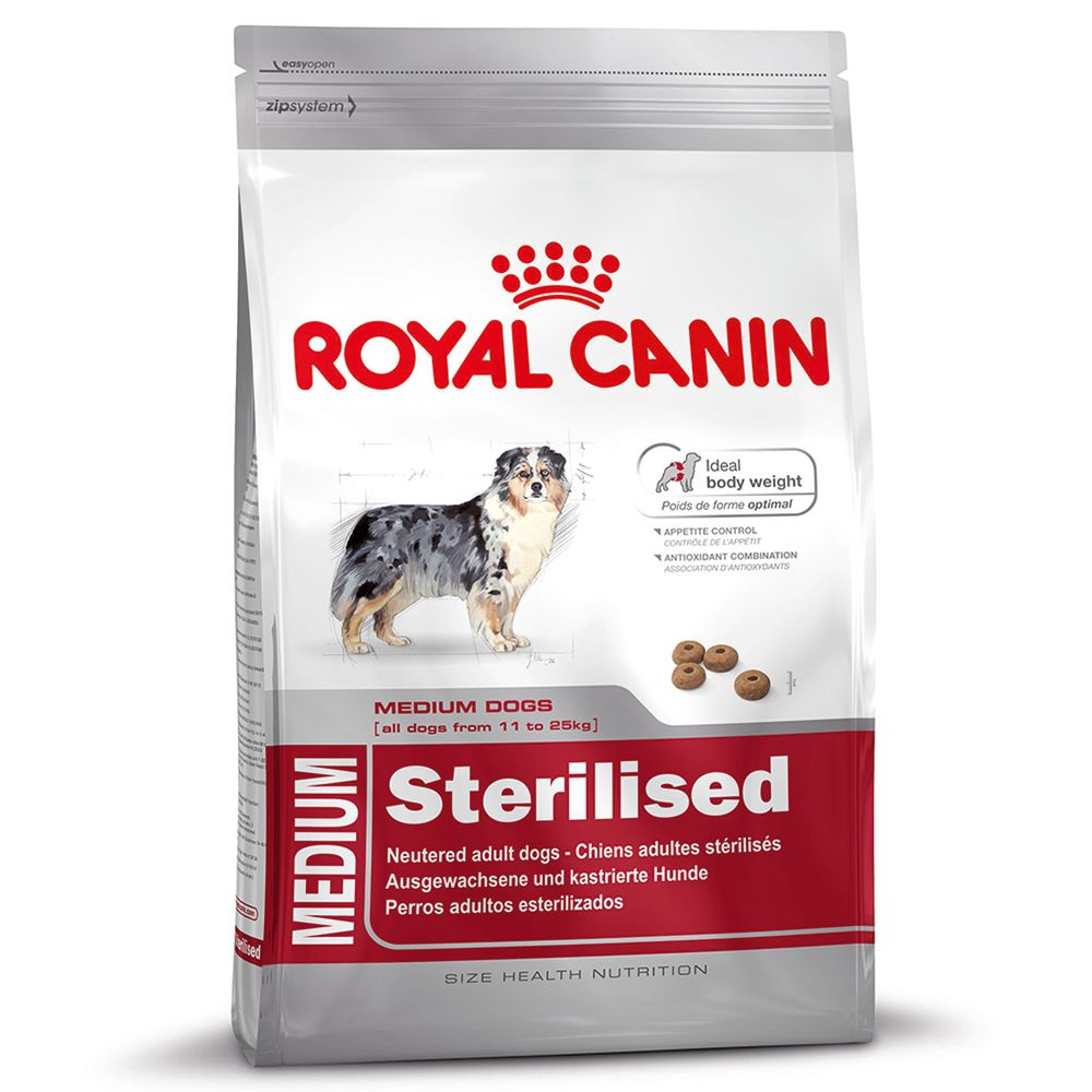 Royal Canin Medium Sterilised - Economy Pack 2 x 12kg