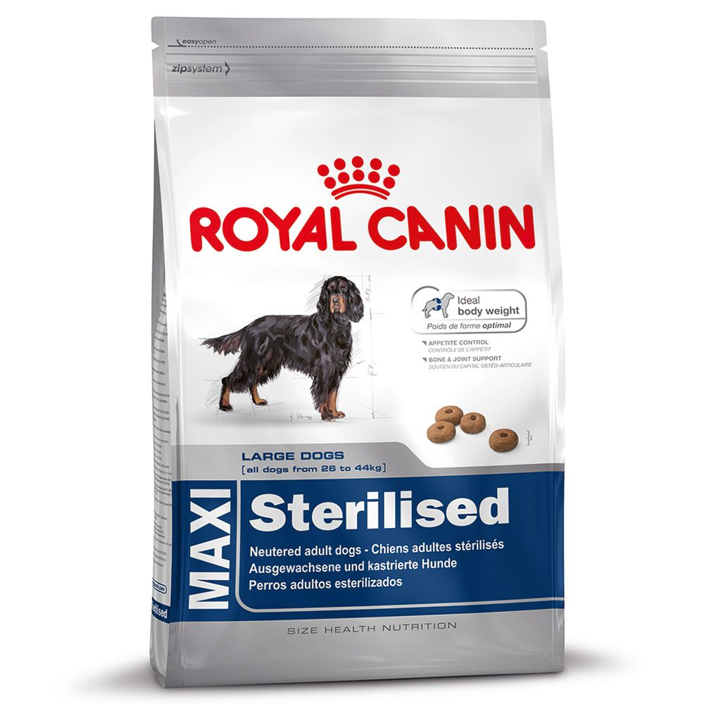 Foto Royal Canin Maxi Adult Sterilised - 2 x 12 kg - prezzo top! Royal Canin Size Royal Canin taglia Maxi