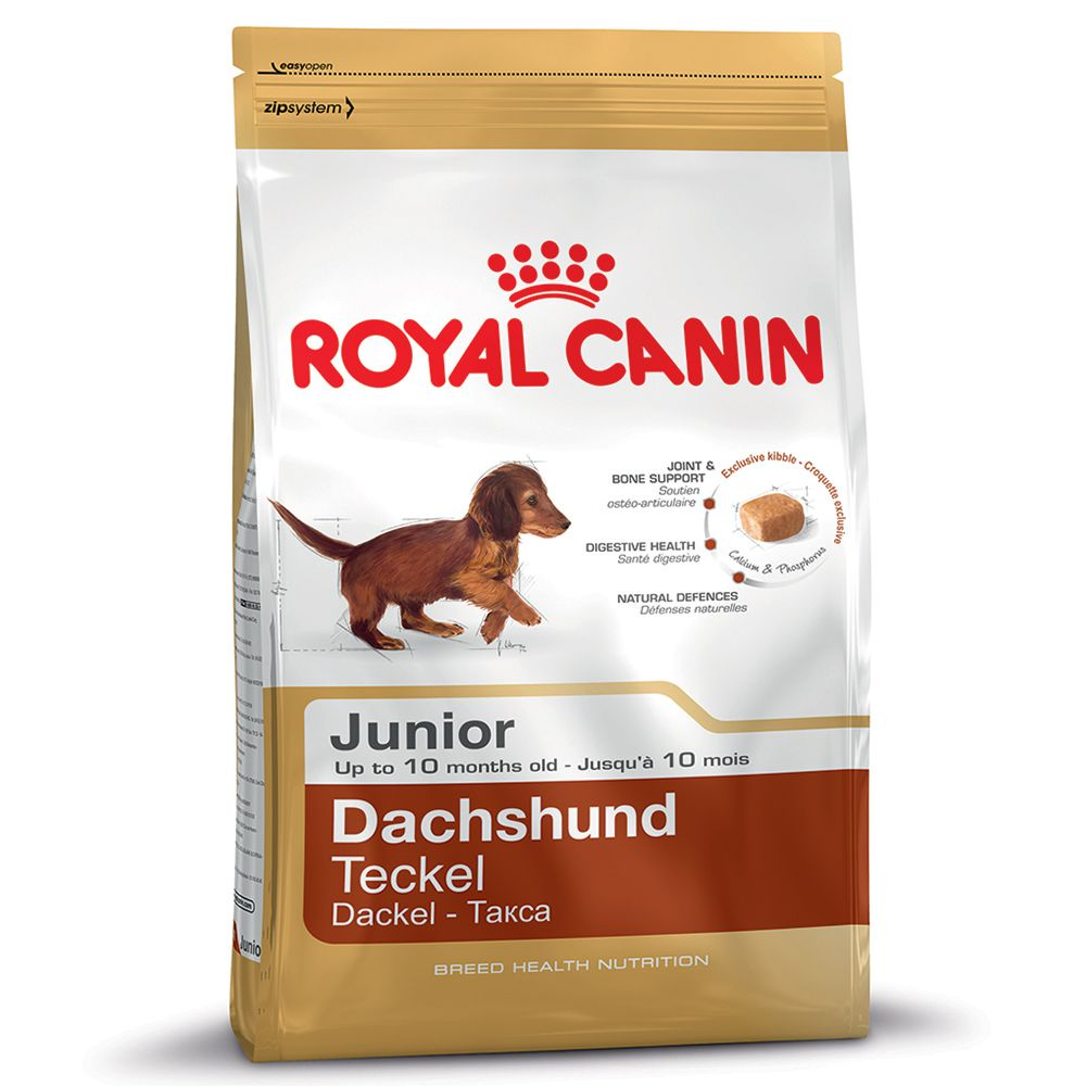 Royal Canin Breed Dry Dog Food Economy Packs - Miniature Schnauzer Junior (2 x 1.5kg)