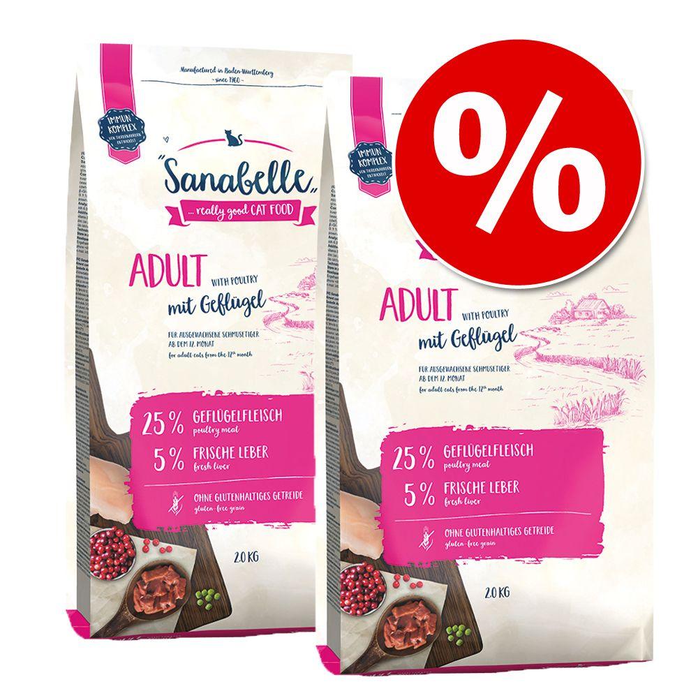 Sparpaket Sanabelle 2 x 2 kg - Delicious Adult ...