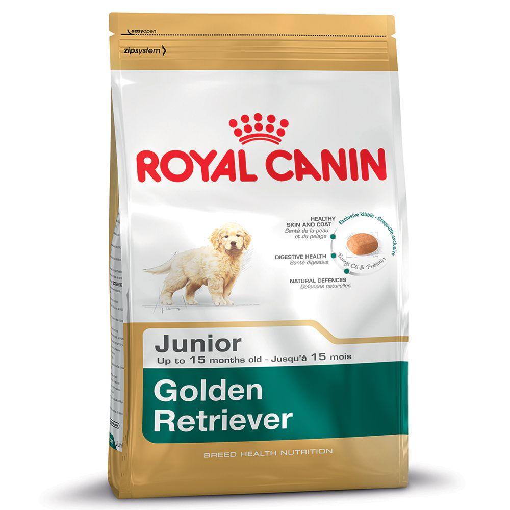 Foto Royal Canin Golden Retriever Junior - 2 x 12 kg - prezzo top! Royal Canin Breed Royal Canin Breed Golden Retriever