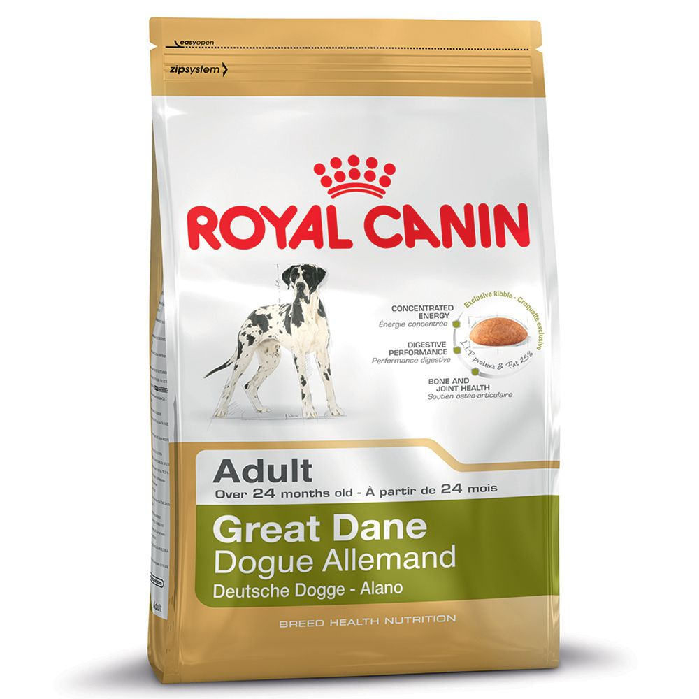 Click to view product details and reviews for Royal Canin Great Dane Adult 12kg.