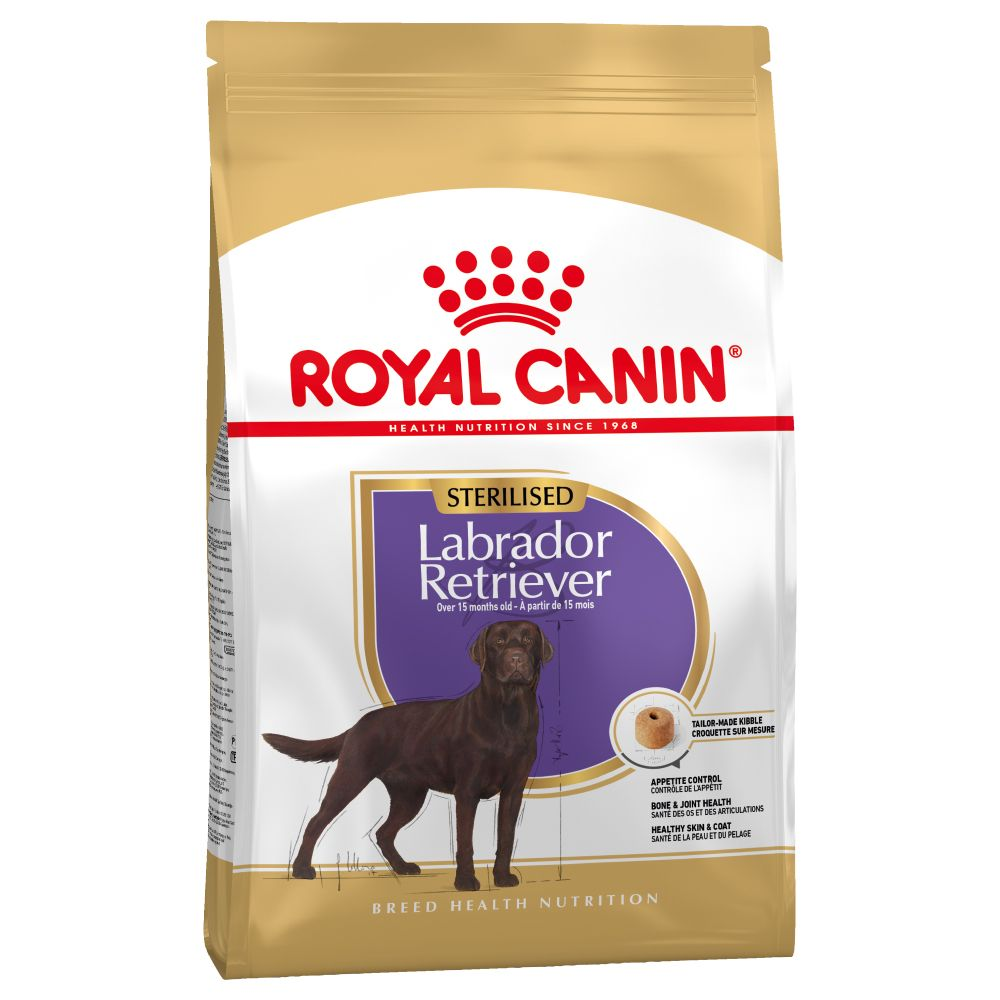 Sterilised Labrador Retriever Royal Canin Adult Dry Dog Food