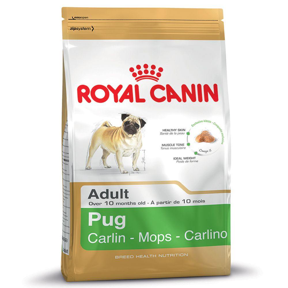 Foto Royal Canin Pug Adult - 3 kg Royal Canin Breed Royal Canin Breed Pug
