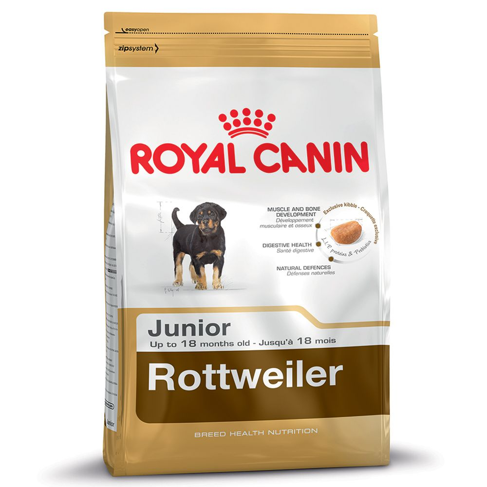 Foto Royal Canin Rottweiler Junior - 12 kg Royal Canin Breed Royal Canin Breed Rottweiler