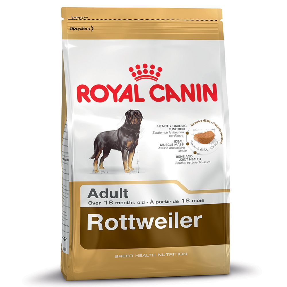 Foto Royal Canin Rottweiler Adult - 2 x 12 kg - prezzo top! Royal Canin Breed Royal Canin Breed Rottweiler