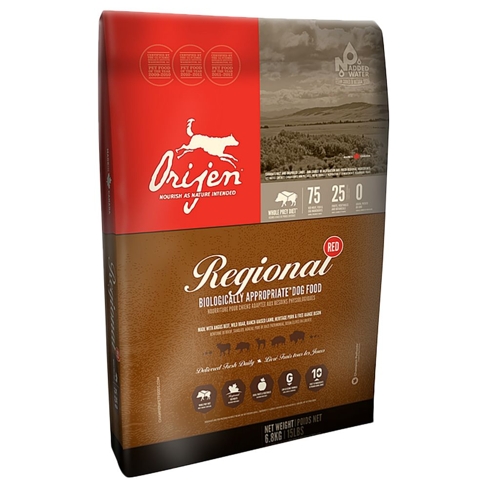 Orijen Regional Red Adult Dry Dog Food - 2.27kg