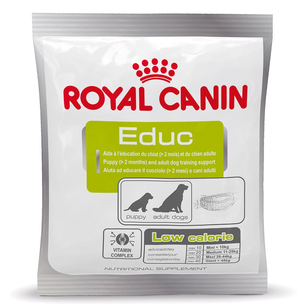 Click to view product details and reviews for Royal Canin Educ Training Reward Low Calorie Super Saver Pack 10 X 50g.