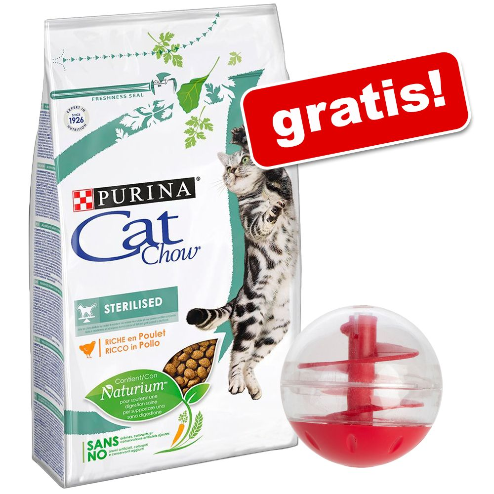 3 kg Purina Cat Chow + Snackball, kula na smakołyki gratis! - Adult Special Care Urinary Tract Health