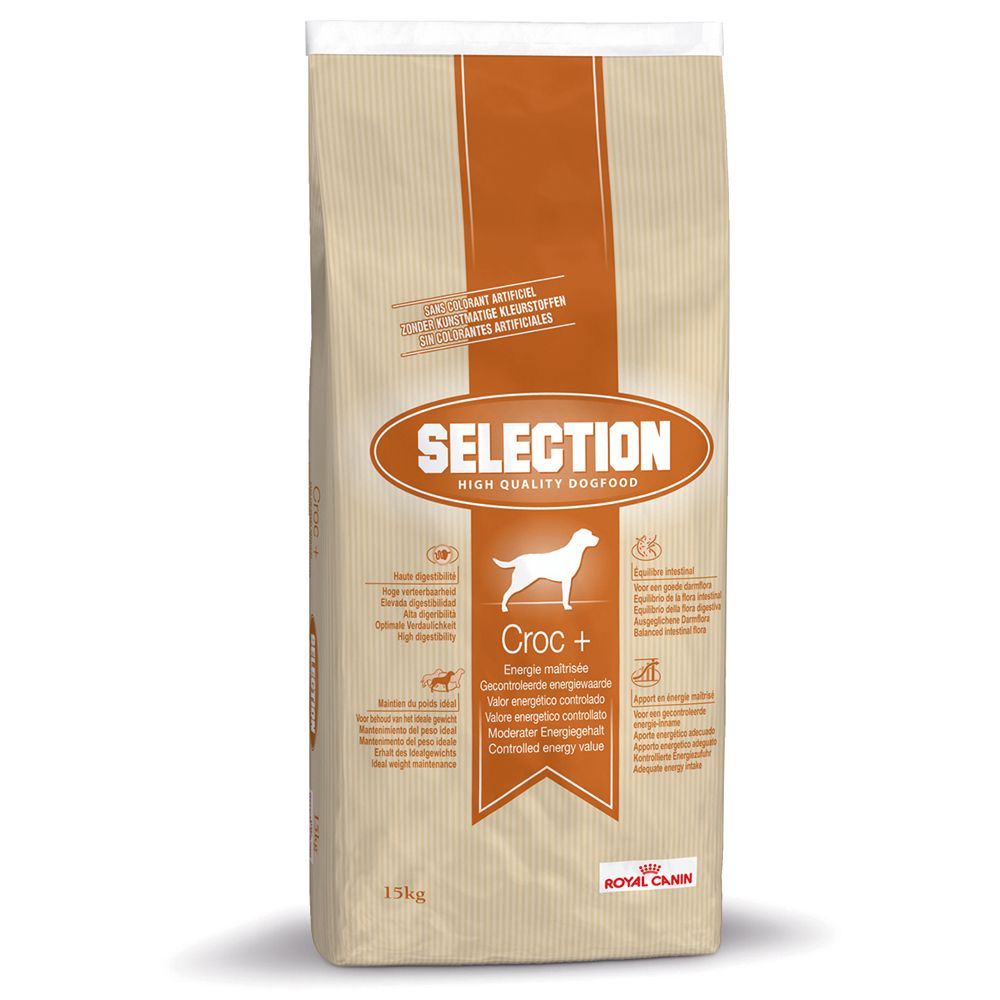 Royal Canin Selection Croc + Controlled Energy Value - Economy Pack: 2 x 15kg