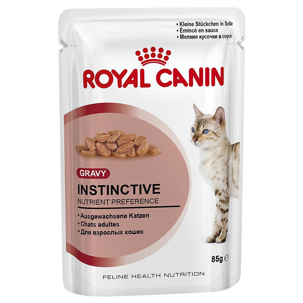 Royal Canin Instinctive w sosie - 12 x 85 g