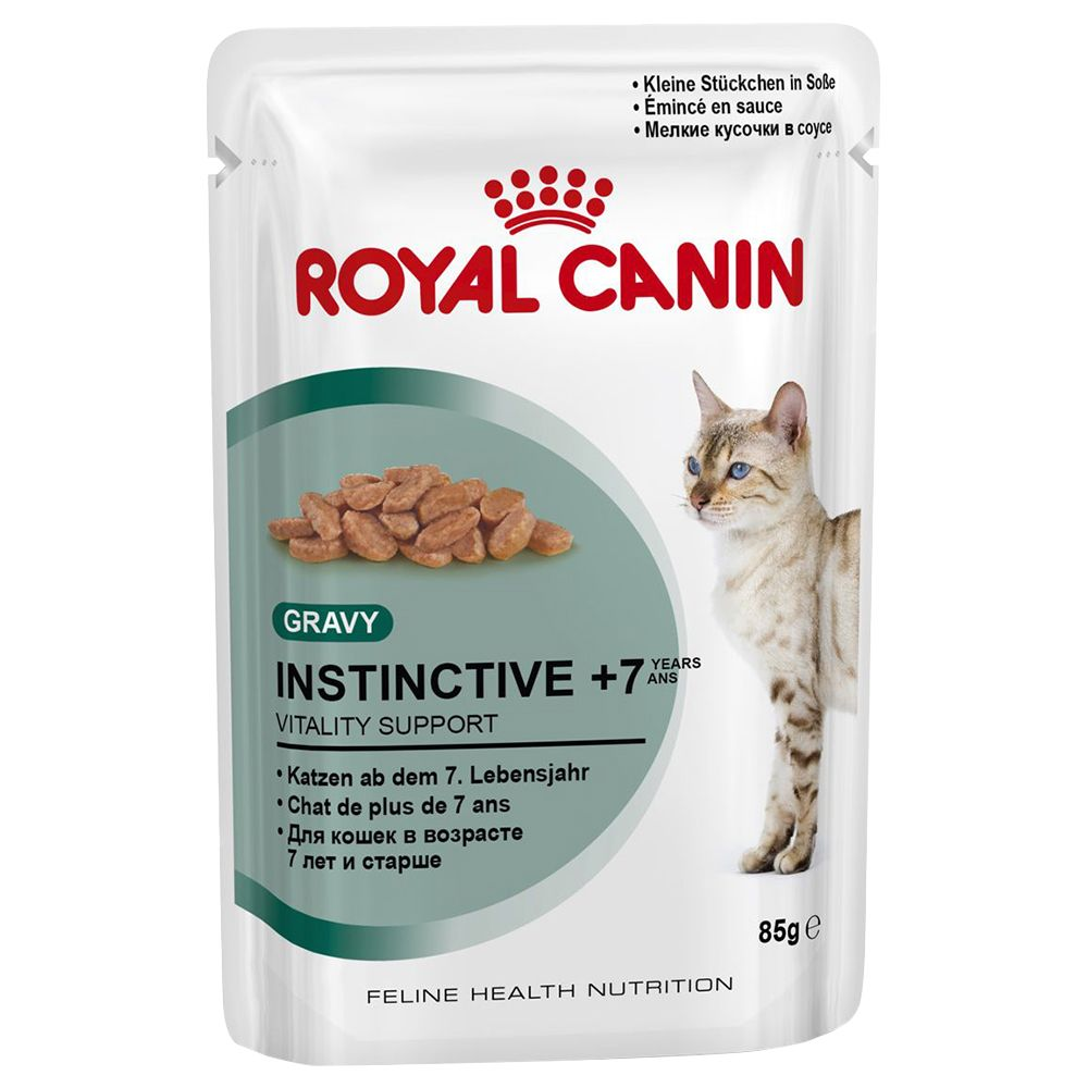 Royal Canin Wet Cat Food Saver Pack 48 x 85g - Ageing +12 in Jelly