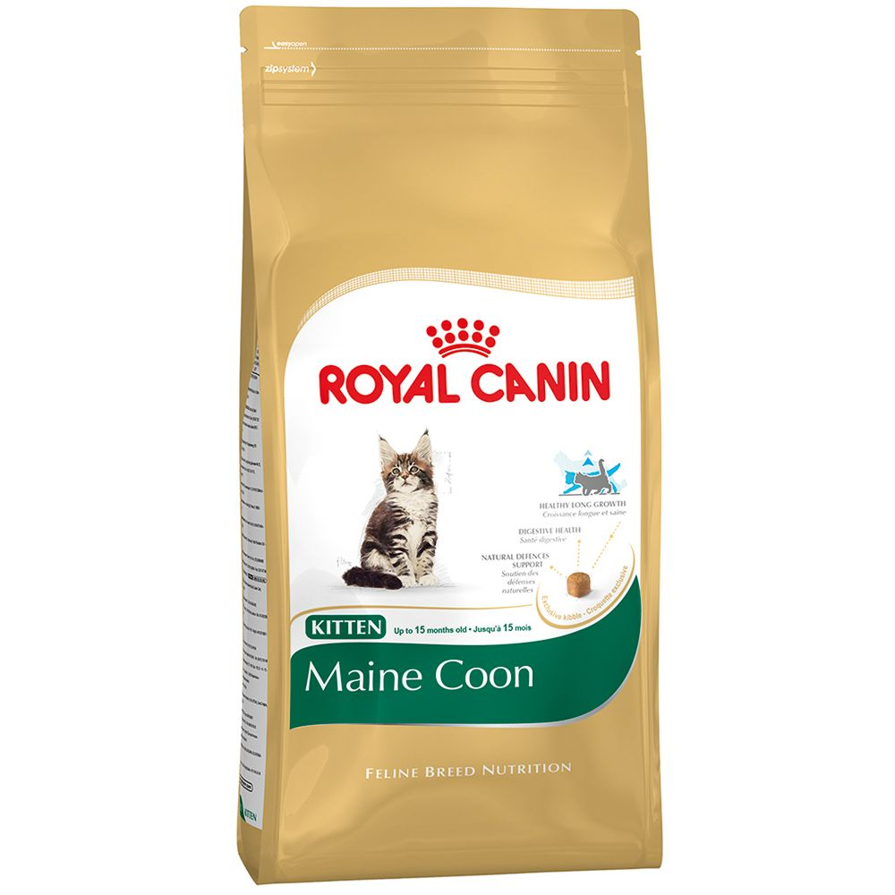 Foto Royal Canin Maine Coon Kitten - 10 kg Royal Canin Feline Breed Maine Coon