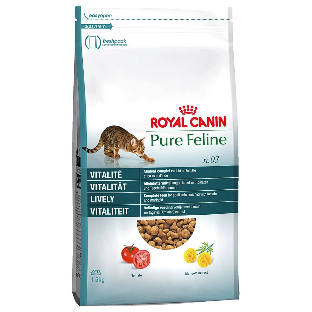 Royal Canin Pure Feline No.3 Lively Vitality - 1.5kg
