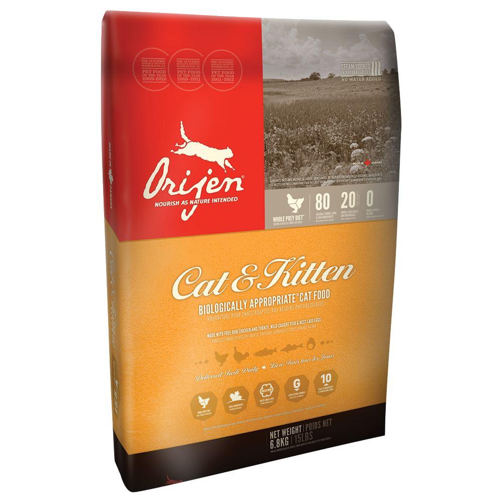 Orijen Chicken Cat & Kitten Dry Food - 6.8kg