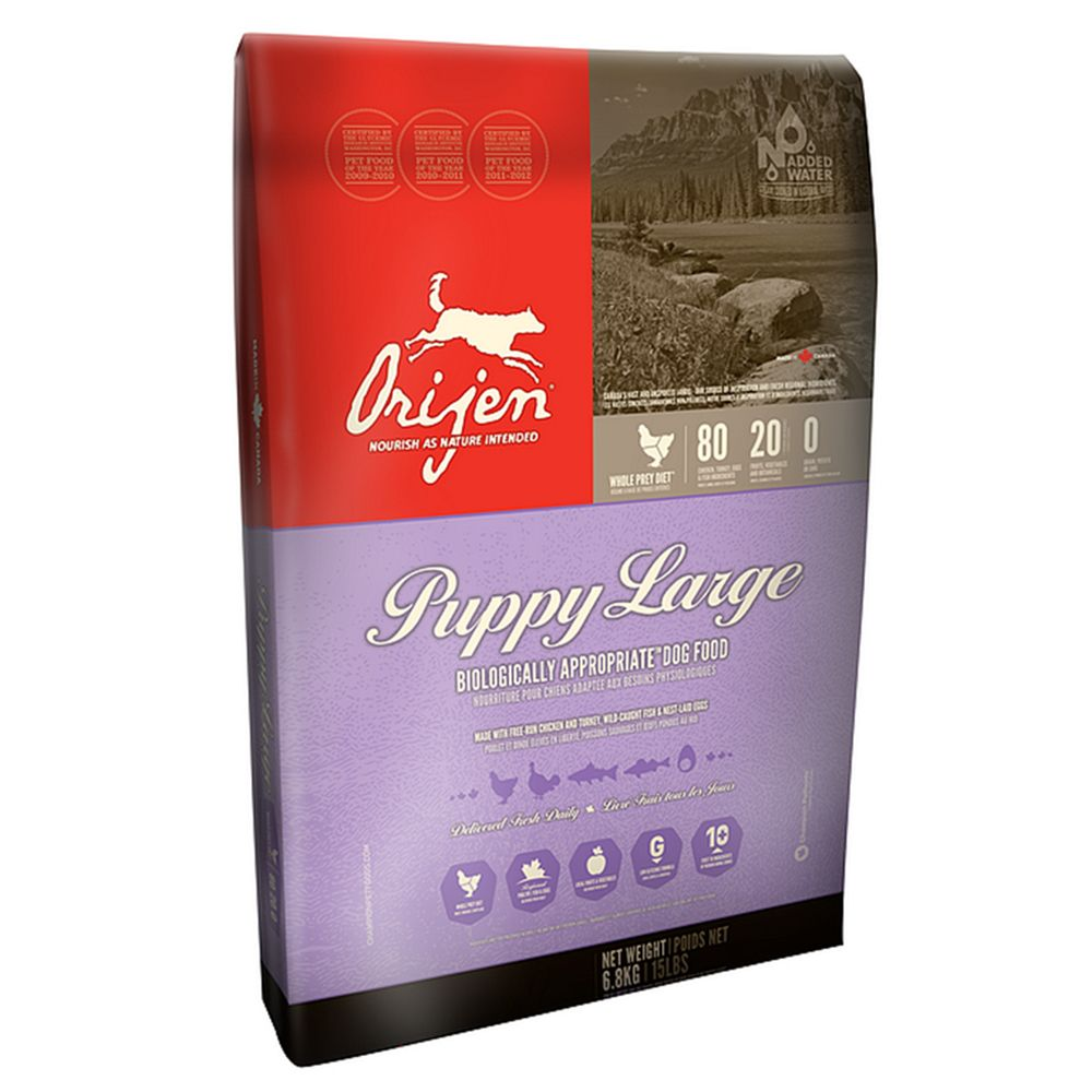 Orijen Puppy Large Dry Food - 6.8kg