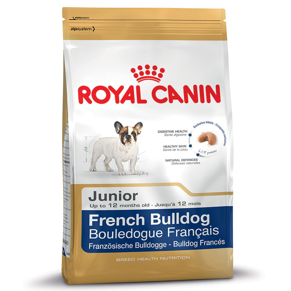 The growing French Bulldog puppy needs a special food during its short and intense growing period. The digestive system of young puppies can be easily upset and th...