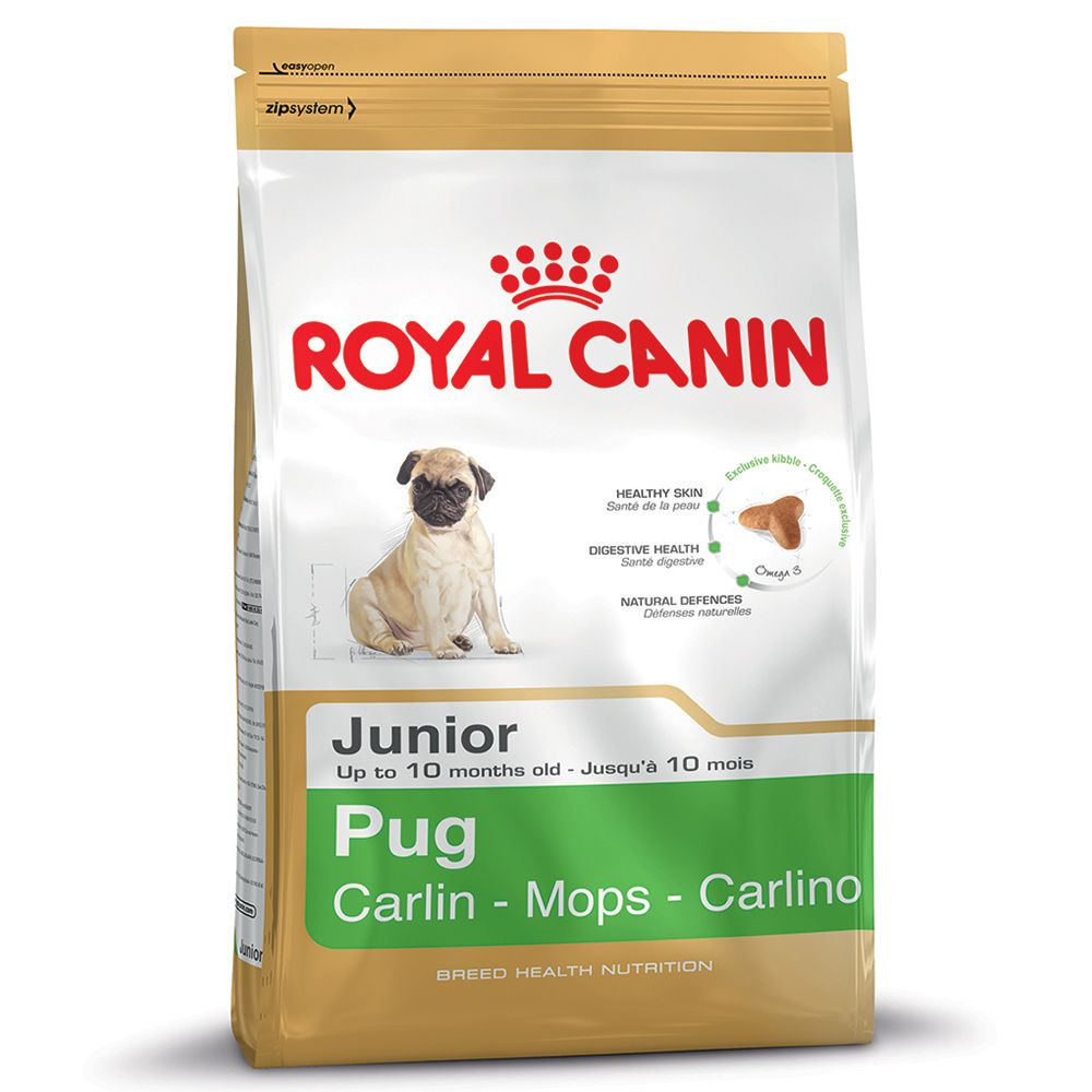 Royal Canin Pug Junior - Sparpaket: 3 x 1,5 kg