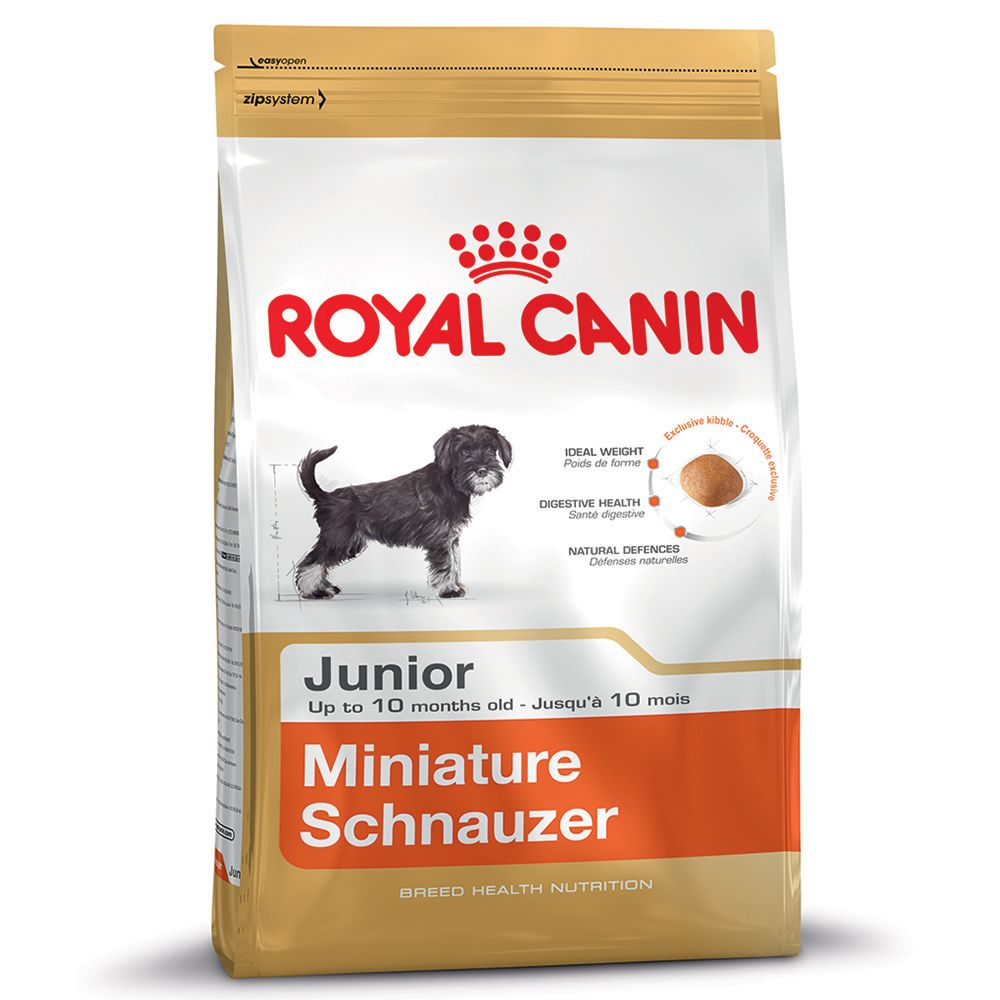 Royal Canin Miniature Schnauzer Junior - Economy Pack: 2 x 1.5kg