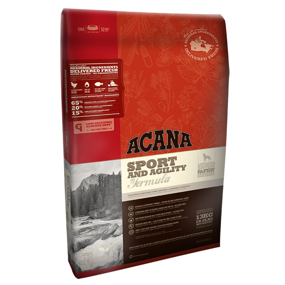 Acana Sport & Agility Dry Dog Food - 17kg