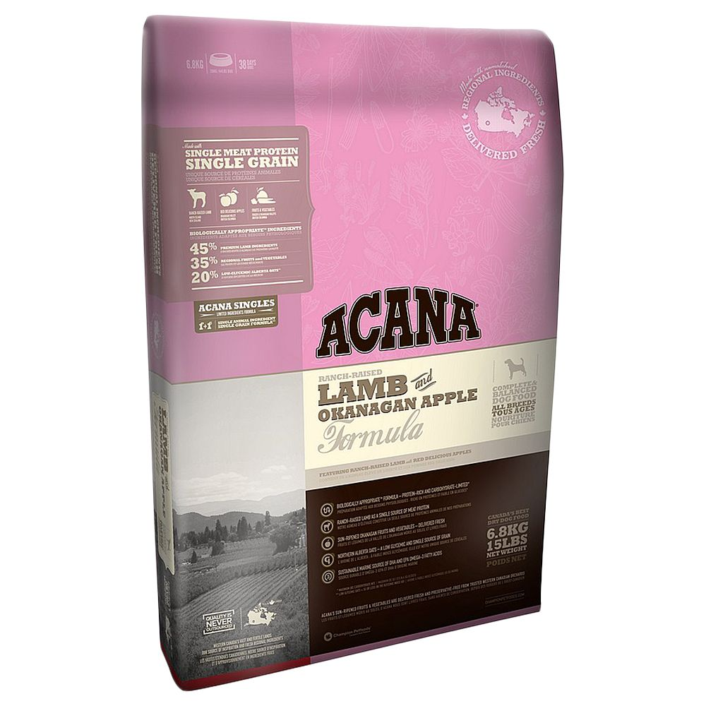 Acana Singles Grass-Fed Lamb Dry Dog Food