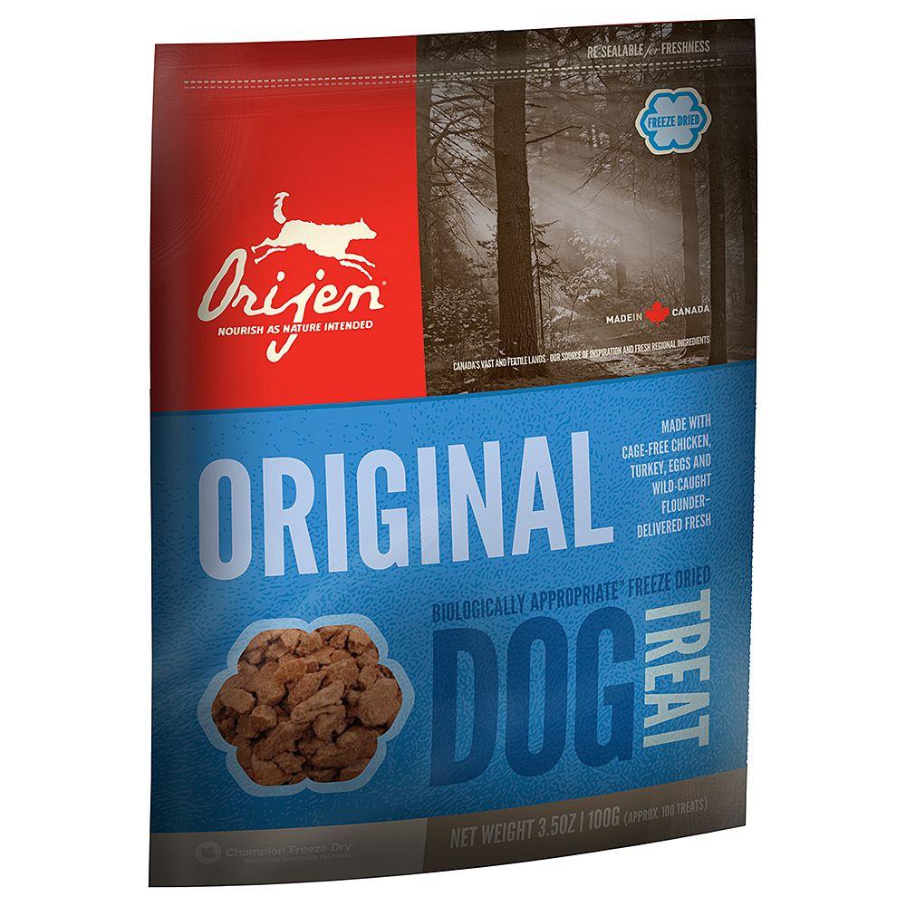 Orijen Original Dog Snacks - Saver Pack: 3 x 100g