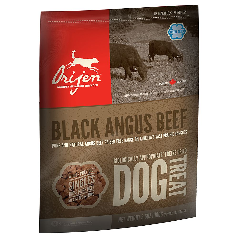 Orijen Dog Snacks – Angus Beef - Saver Pack: 3 x 100g