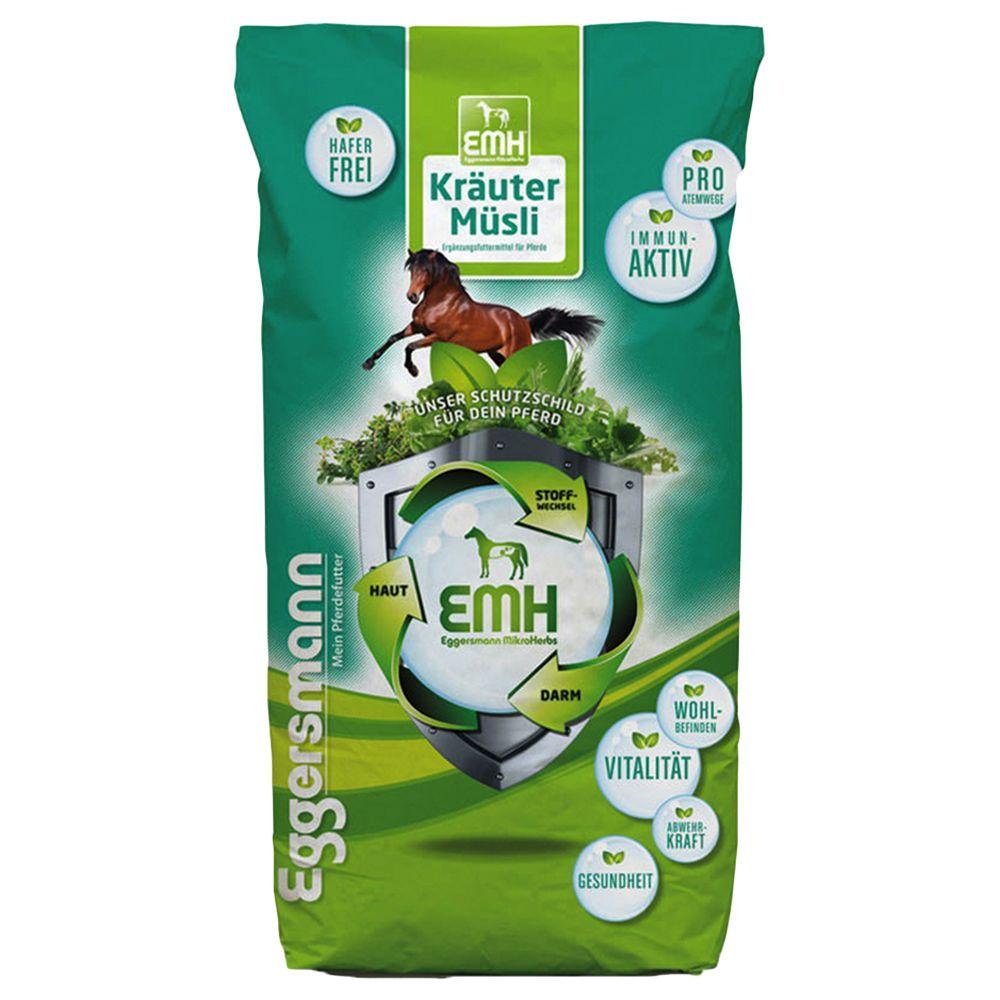 Eggersmann Muesli aux herbes EMH pour cheval - 20 kg