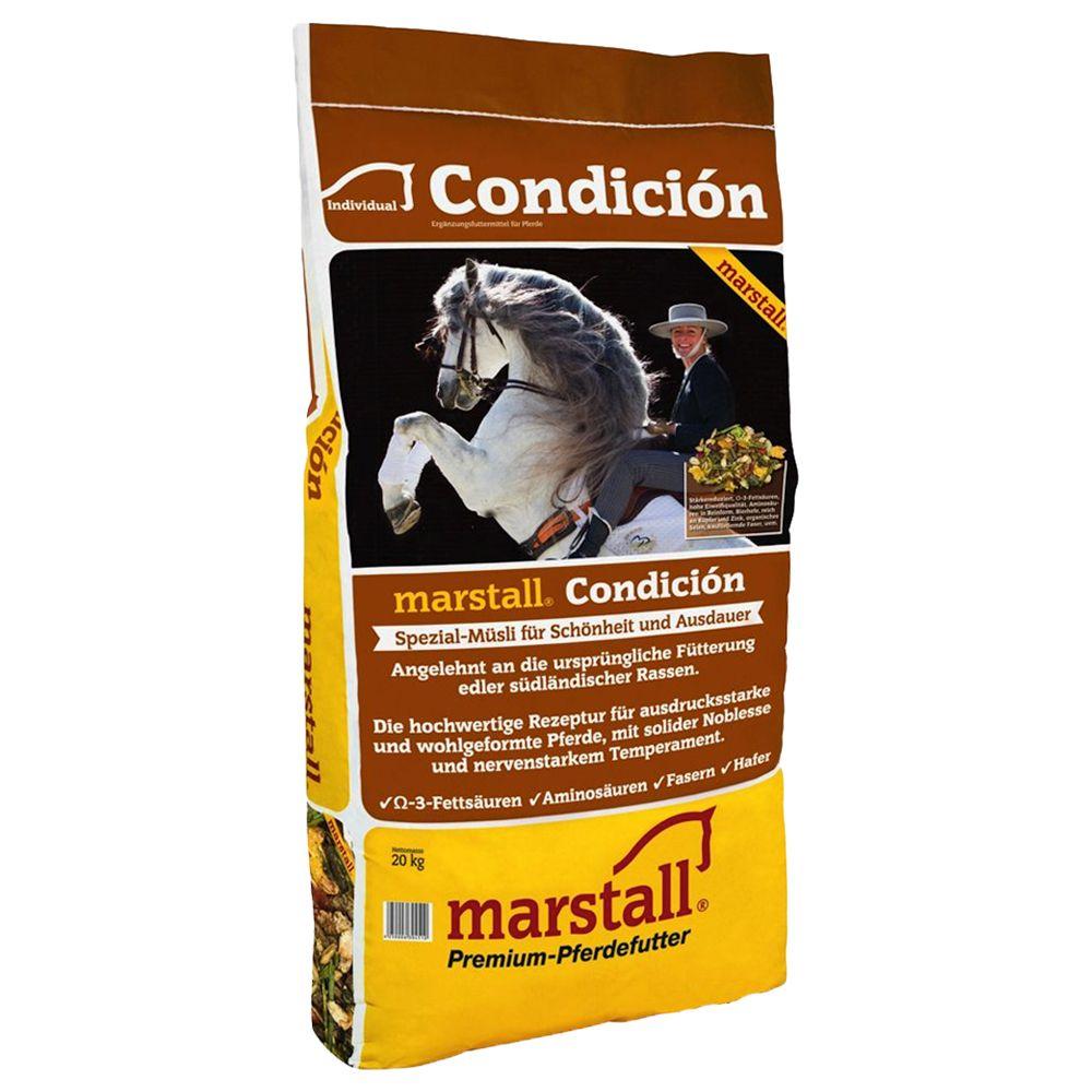 Cheval Nourriture Muesli pour chevaux Marstall