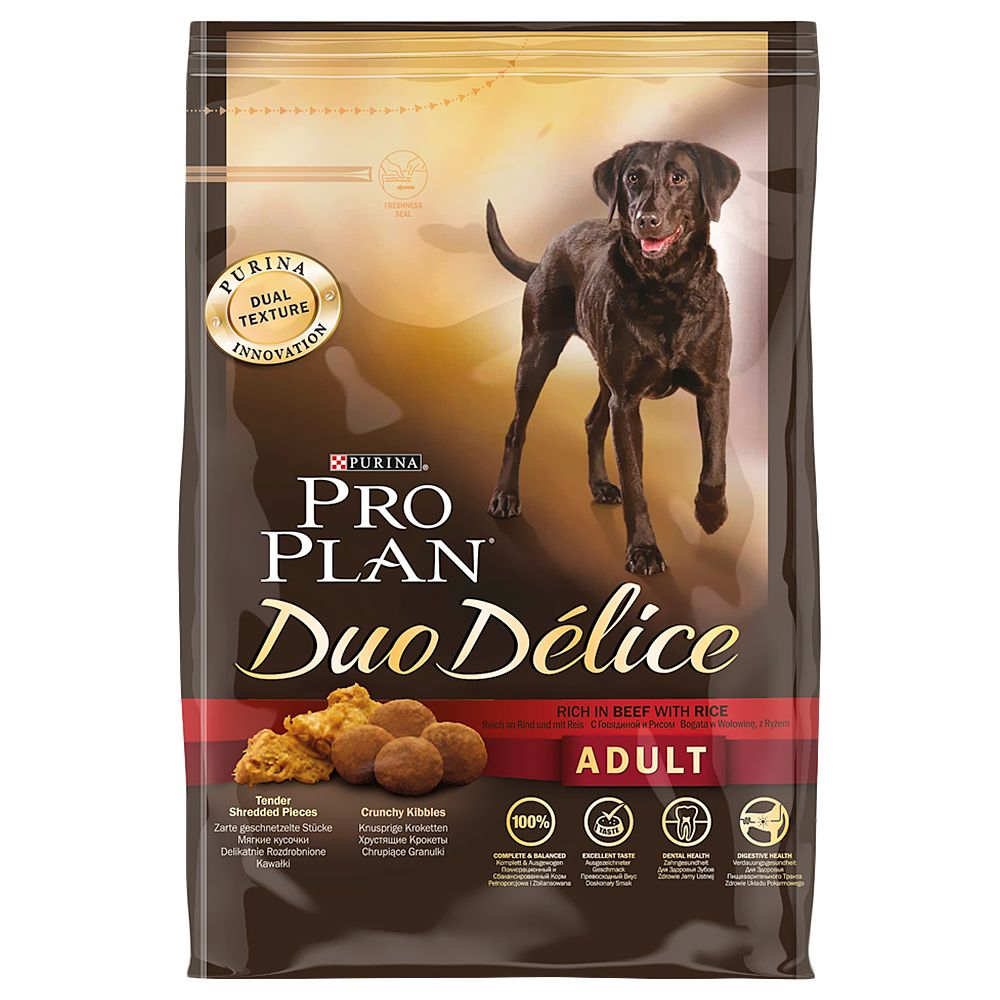 Pro Plan Duo Délice - Beef with Rice - 10 kg
