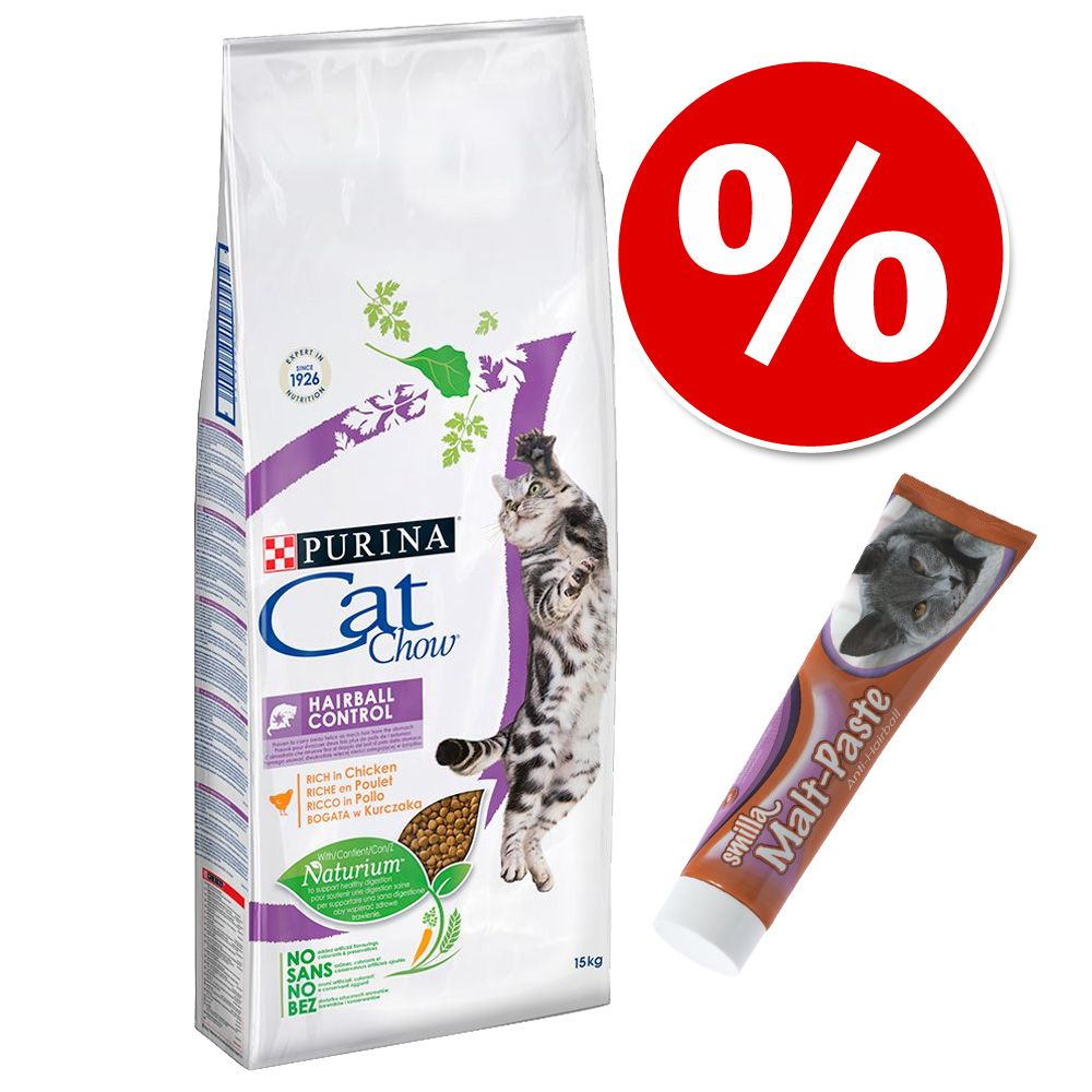 15 kg Purina Cat Chow + Smilla pasta słodowa, 200 g w super cenie! - Adult Special Care Urinary Tract Health
