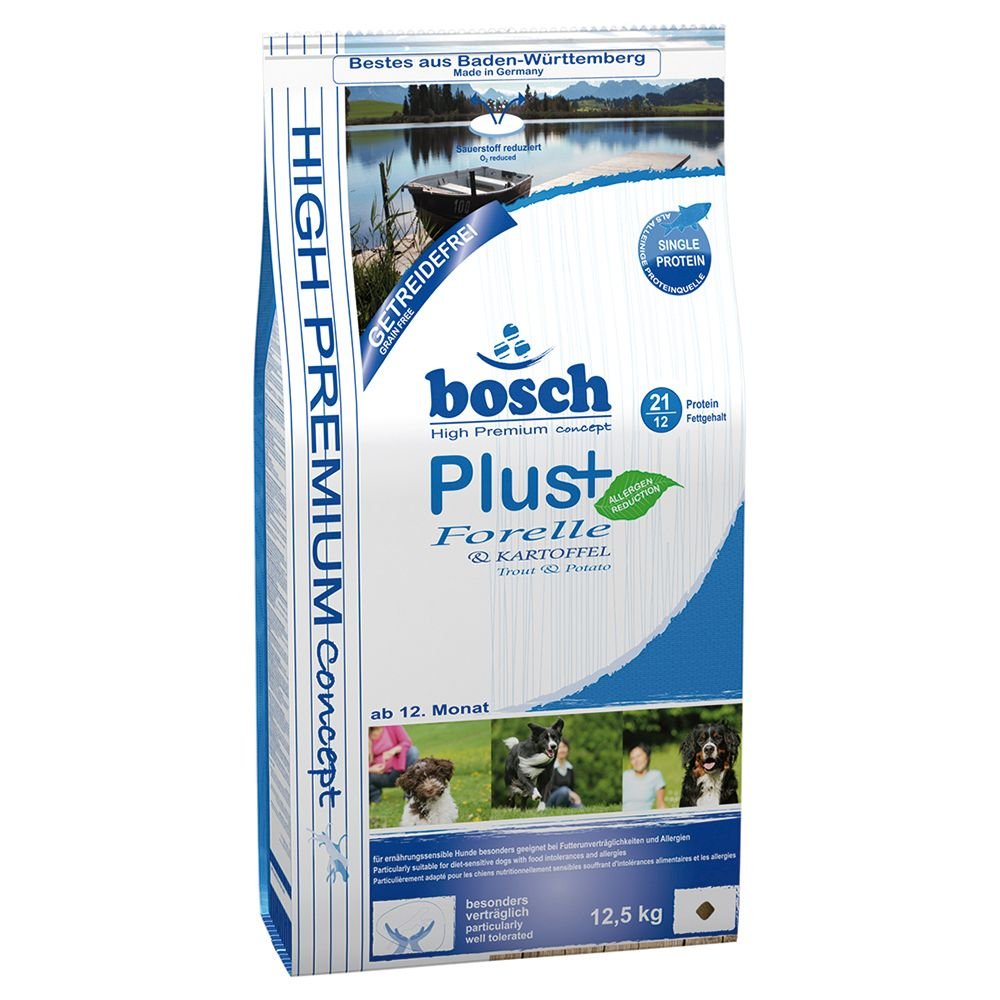 Bosch Plus Trout & Potato HPC Dry Dog Food - 12.5kg