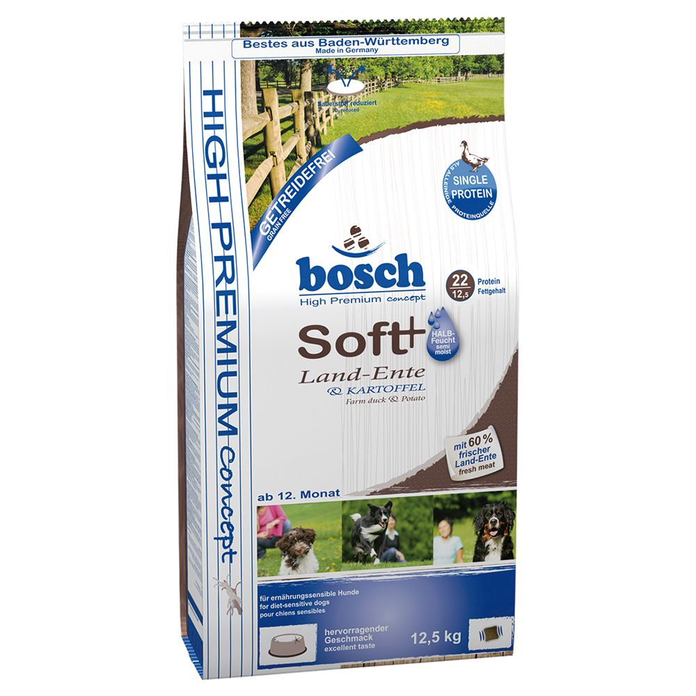 Bosch Soft Duck & Potato HPC Dog Food - 2.5kg