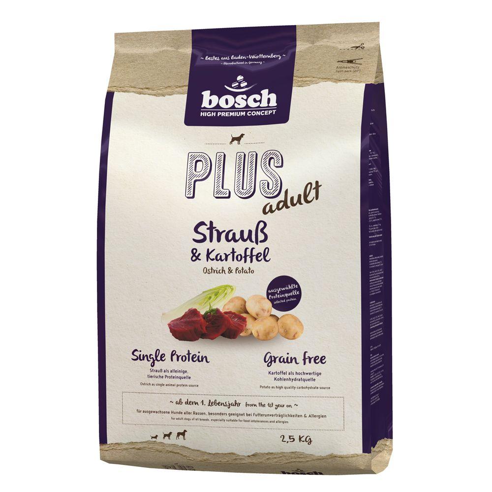 12.5kg Bosch Plus Ostrich & Potato HPC Dry Dog Food