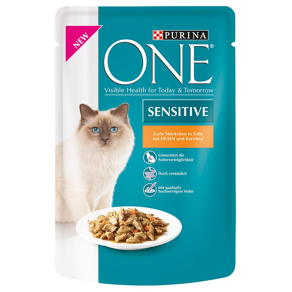 Purina one sensitive saver pack 32 x 85g chicken for Purina tropical fish food
