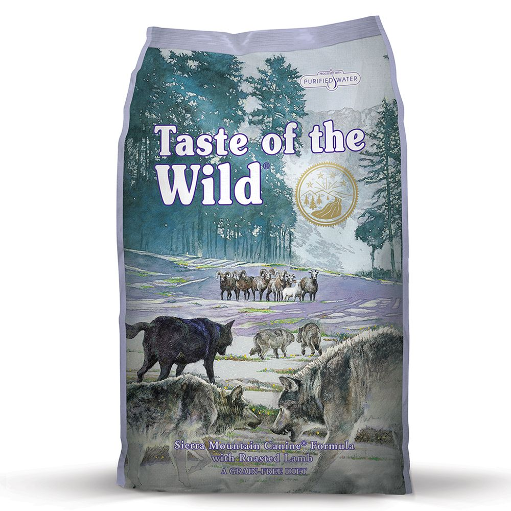 Click to view product details and reviews for Taste Of The Wild Sierra Mountain Adult 6kg.