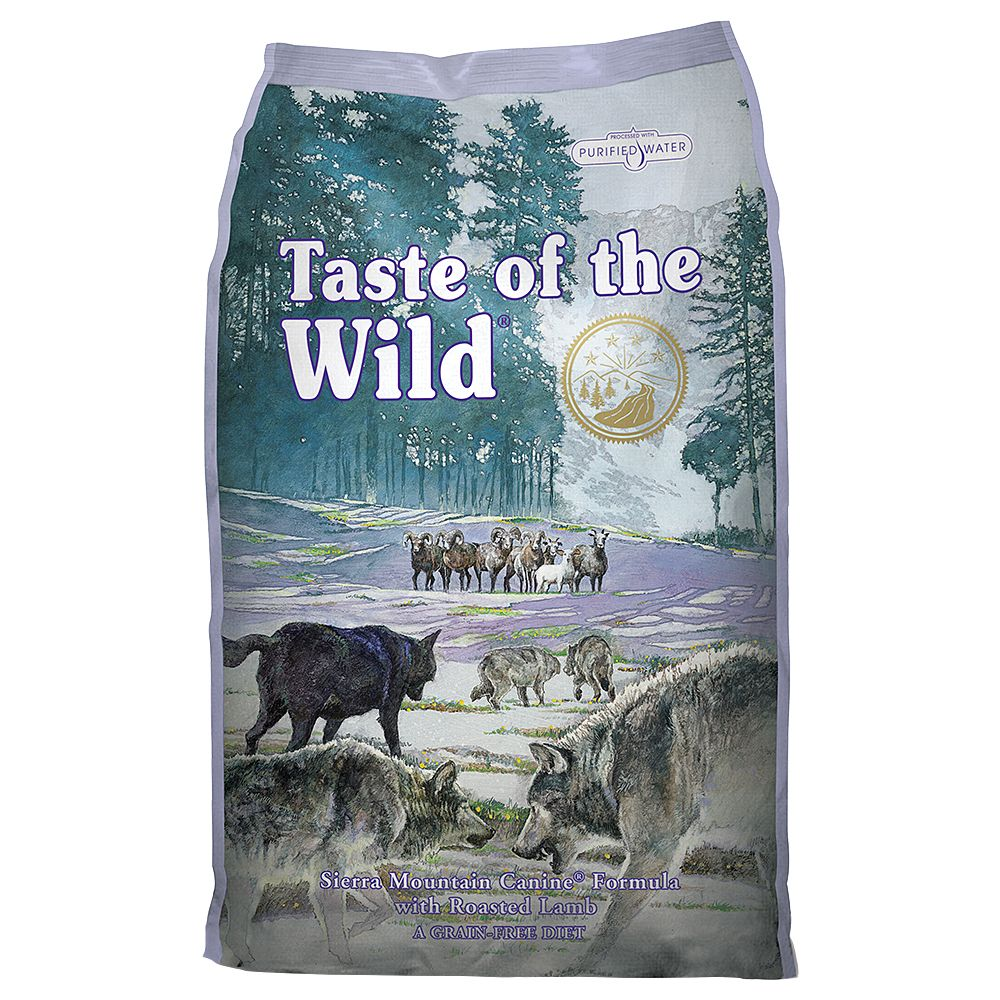 Taste of the Wild Sierra Mountain - 2 x 13 kg