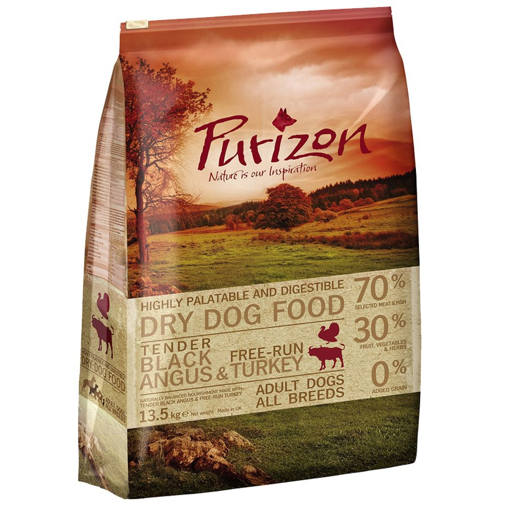 12kg Purizon Grain-Free Dry Dog Food - Save £5!* - Adult: Fish (12kg)