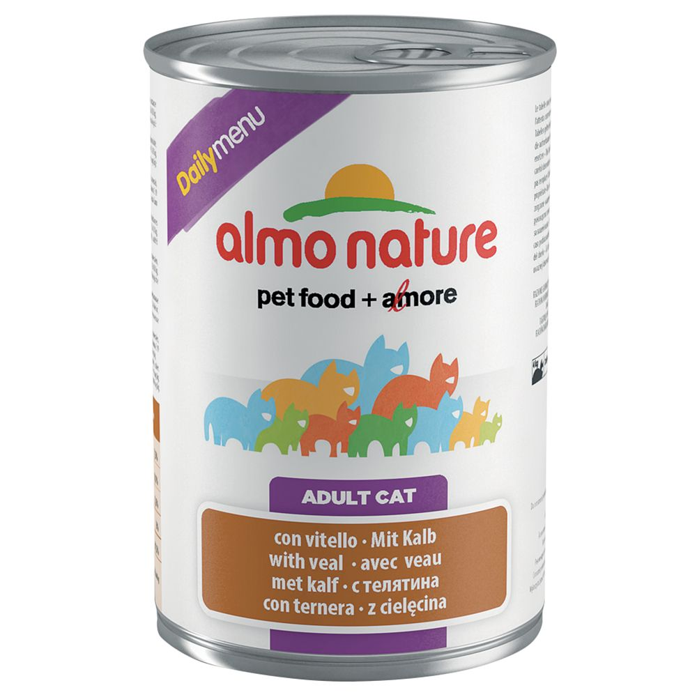 Almo Nature Daily Menu 400g - Rabbit (12 x 400g)